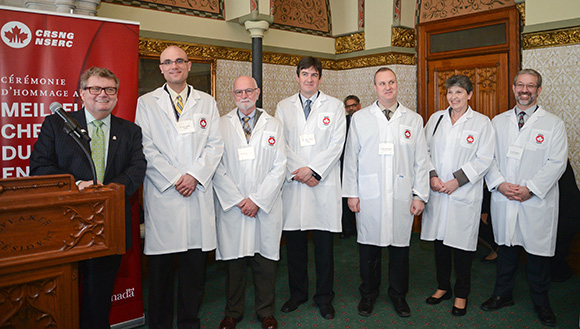 Winners of the Brokhouse Canada Prize for Interdisciplinary Research in Science and Engineering
